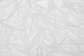 Gray Crumpled Paper Background. Minute paper close-up