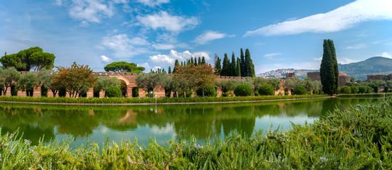 Panoramica di Villa Adriana