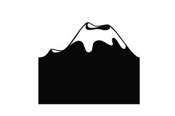 dessin du volcan