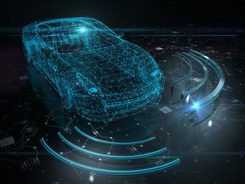 Driver less autopilot vehicle with lidar technology