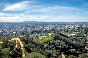 Downtown Los Angeles skyline view - Los Angeles, California, USA