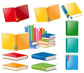 Different designs of books