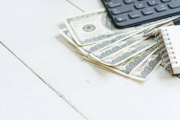 Business accounting Online payments concept