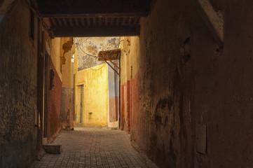 The beautiful Medina of Meknes, Morocco