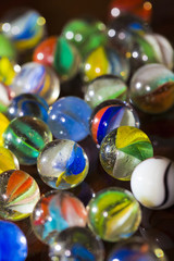 Colorful Marble Balls