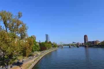 Mainufer Frankfurt am Main