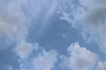 Clear Blue Sky in summer