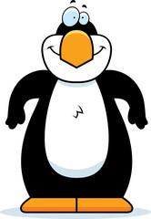Cartoon Penguin Smiling