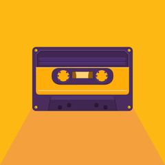 Vintage audio cassette.