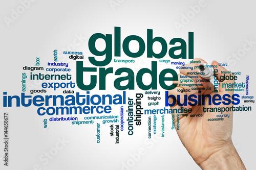 global trade word cloud stockfotos und lizenzfreie bilder auf bild 144658677. Black Bedroom Furniture Sets. Home Design Ideas