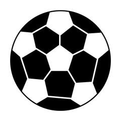 soccer ball sport pictogram vector illustration eps 10