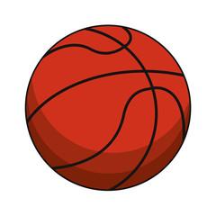 basketball ball sport image vector illustration eps 10