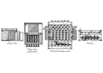 History of calculating machines.