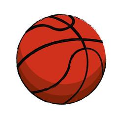 basketball sport ball image vector illustration eps 10