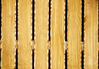 Grunge Wood Board Panel Structure.  Solid Wood Slats Rustic Shabby Brown Background.