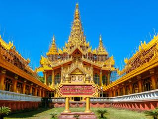 Kamboza thadi palace in Myanmar.
