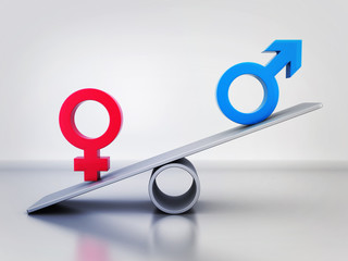 Abstract equality of men and women