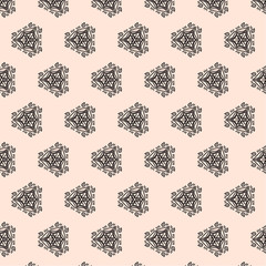 seamless pattern in gentle tones