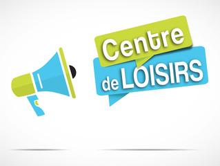 mégaphone : Centre de loisirs