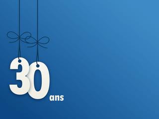 Icône Vecteur 30 ANS