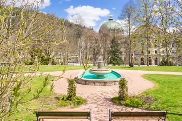 Kurpark und Dom in St. Blasien