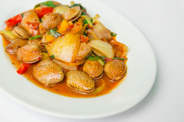 Food, Chili Pepper, Clam - Seafood, Roasted, Seafood