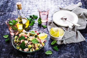 Salad of quinoa