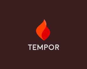 Fire grill logo symbol design. Flame vector icon logotype