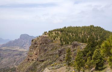 central Gran Canaria in April