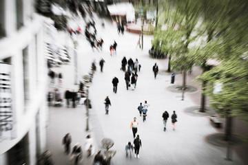 Thema Einzelhandelskonzept im zoom Einkaufstraße in Duisburg