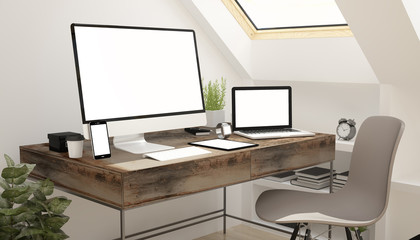 attic study devices white screen.