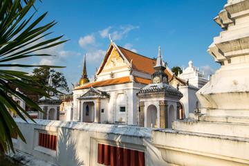 The area of Wat Khu Tao,  Mae Tom, Bang Klam, Songkhla, Thailand