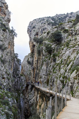 Wall Mural - Opening of the Caminito del Rey