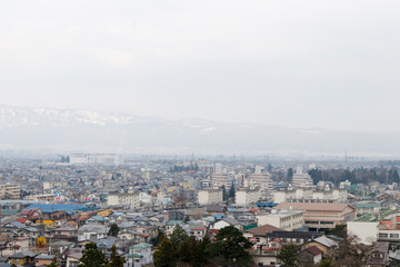 会津若松市 街並み
