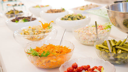 Cuisine Culinary Buffet Dinner Catering Dining Food Celebration Party Concept.