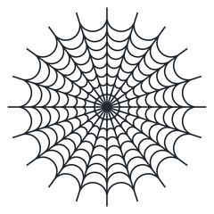 Spider web - Cobweb vector  on white background - illustration