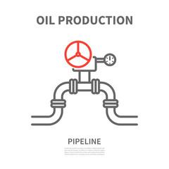 Pipeline in linear style.