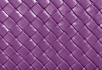 Purple color leather pattern.