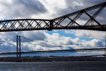 Forth Bridge near Edinburgh, Scotland
