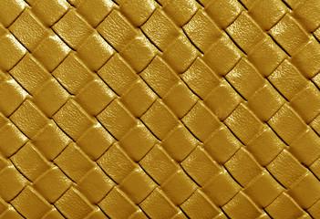 Orange color leather pattern.