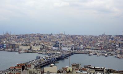view of the Galata bridge