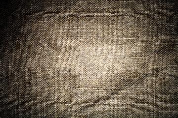 Texture of sack. Burlap background. Toned