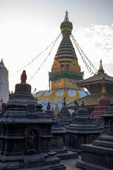 Swayambhunath temple, Kathmandu Nepal