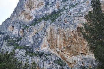 Fototapete - Mountain of Desfiladero de los Gaitanes, Valle del Hoyo