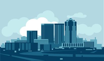 Fototapete - Tucson skyline
