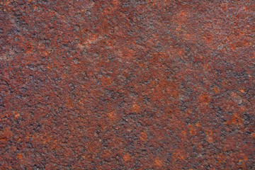 Photo of a grunge rusty metal texture background