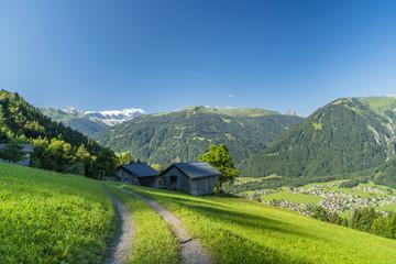 Sommerurlaub in den Alpen