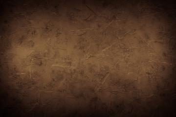 Brown empty concrete stone texture. Slate background. Fototapete