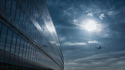 Moderner Flughafen