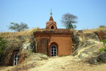 Ancient cave temple